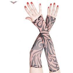 Queen Of Darkness Rękaw Tatuaż Emo Goth Punk