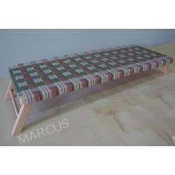 Leżak przedszkolny 140x55x4 cm