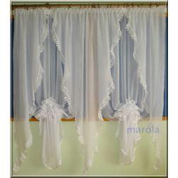 *51* Nowa elegancka firanka okno tarasowe ,gipiura Firany gotowe