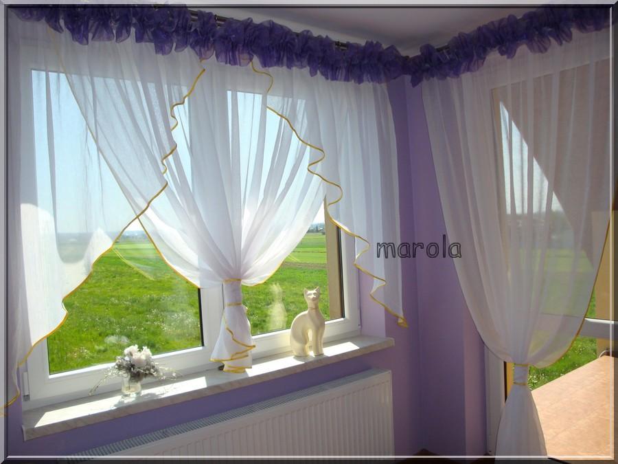 108 Okno Balkon świetna Nowa Firana Tubki Na Bazarekpl