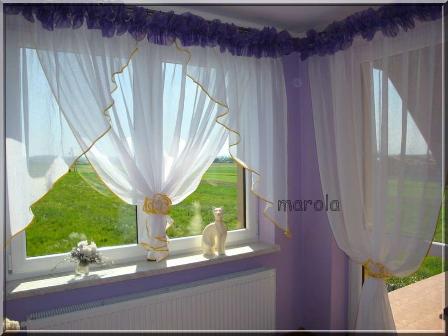107 Okno Balkon świetna Nowa Firana Gumki Na Bazarekpl
