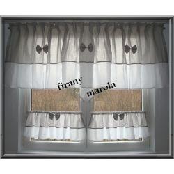 379 NOWA FIRANA KUCHENNA kolory Firanki