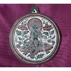 KAMIEŃ Płaskorzeźba TARA handmade NEPAL buddyzm