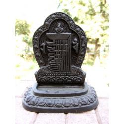 KALACHAKRA ceramiczna PODSTAWKA  kadzidła NEPAL