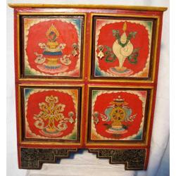 SZAFKA - Symbole Pomyślności - BUDDYZM-NEPAL
