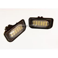 LED DO REJESTRACJI DO MERCEDES W203 4D sedan