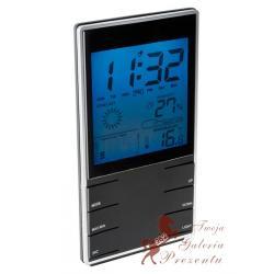 Zegar elektroniczny z higrometrem i termometrem