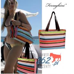 Markowa torba plażowa lato Ferraghini oryginalna Edycja limitowana
