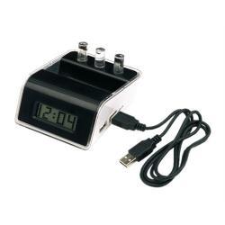 Ekologiczny zegar na wodę! +Podświetlany Hub USB