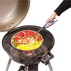 Widelec z termometrem do pieczenia/Grill