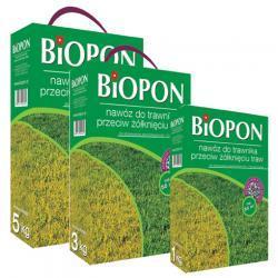 BIOPON  do trawnika przeciw żólknięciu 3 kg