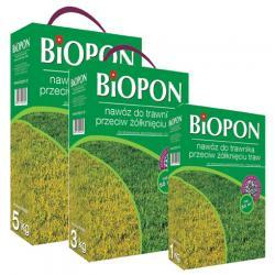BIOPON  do trawnika przeciw żólknięciu 5 kg