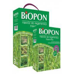 BIOPON nawóż do regeneracji trawnika 3 kg