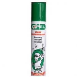 Expel Spray odstraszający komary i kleszcze 90 ml
