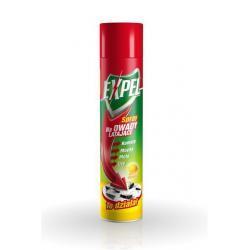 Expel - Spray na owady latające o zapachu Cytryny