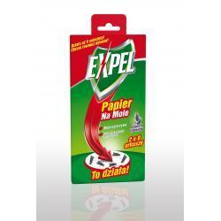 Expel - Papier na mole o zapachu lawendowym 16 szt.