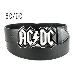 SUPER PASEK Z ORYGINALNĄ KLAMRĄ AC/DC