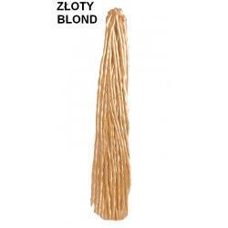 Dredy pojedyńcze kolor zloty blond