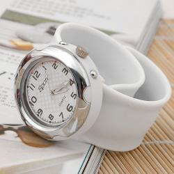 Zegarek slap zaciskowy biały