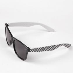 Okulary typu wayfarer przeciwsłoneczne szachownica