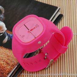 Zegarek gumowy square neonowy roz