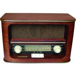 RADIO RETRO HYUNDAI RA 601 + POZNAŃ + KURIER 24H