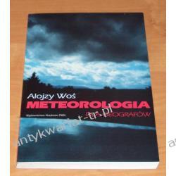 Meteorologia dla geografów, Woś