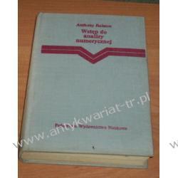 Wstęp do analizy numerycznej,  A. Ralston Matematyka, statystyka