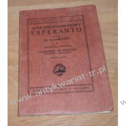 Język międzynarodowy esperanto L. Zamenhof