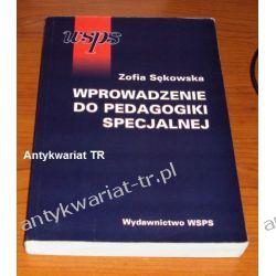 Wprowadzenie do pedagogiki specjalnej, Zofia Sękowska Pedagogika, resocjalizacja