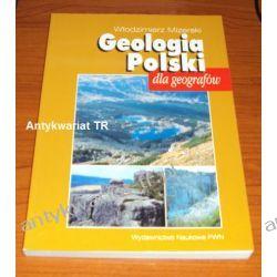 Geologia Polski dla geografów, Włodzimierz Mizerski Geografia, geologia, turystyka