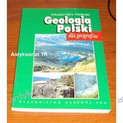 Geologia Polski dla geografów, Włodzimierz Mizerski, Geografia, geologia, turystyka