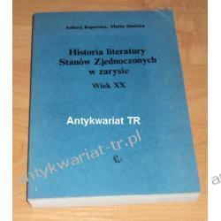 Historia literatury Stanów Zjednoczonych  w zarysie. Wiek XX, Andrzej Kopcewicz, Marta Sienicka