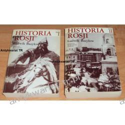 Historia Rosji, tom 1-2, Ludwik Bazylow