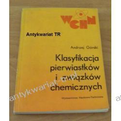 Klasyfikacja pierwiastków i związków chemicznych, Andrzej Górski