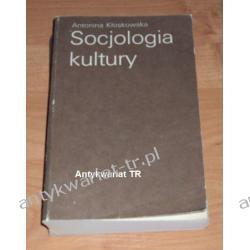 Socjologia kultury, Antonina Kłoskowska