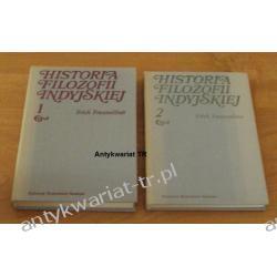 Historia filozofii Indyjskiej, tom 1 i 2,  Erich Frauwallner Filozofia, historia filozofii