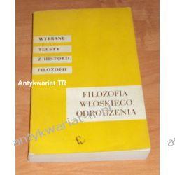 Filozofia włoskiego odrodzenia Filozofia, historia filozofii