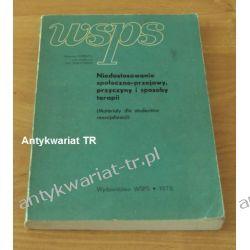 Niedostosowanie społeczne-przejawy, przyczyny i sposoby terapii, Kazimierz Pospiszyl