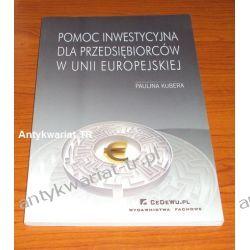 Pomoc inwestycyjna dla przedsiębiorców w Unii Europejskiej, Paulina Kubera