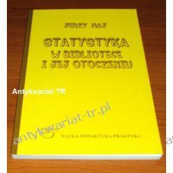Statystyka w bibliotece i jej otoczeniu,  Jerzy Maj