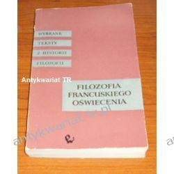 Filozofia francuskiego oświecenia Filozofia, historia filozofii