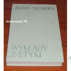 Wykłady z etyki, Roman Ingarden Filozofia, historia filozofii