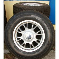 Felgi z oponami zimowymi Michelin , Grand Cheeroke