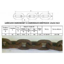 Łańcuch Rozrzutnika Obrornika 14x42 KL5