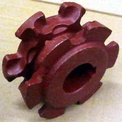 KOŁO GNIAZDOWE Rozrzutnik KRONE,Z=6,łańcuch 9,5x26 Części do maszyn rolniczych