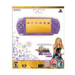 Konsola Sony PSP 3004 Liliowy + HANNAH MONTANA
