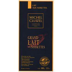 Michel Cluizel Grand Lait Aux Noisettes, czekolada mleczna z orzechami laskowymi 100g