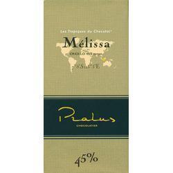 Pralus Melissa, 45% kakao, czekolada mleczna, 100 g.