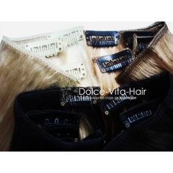 Włosy naturalne ZESTAW Clip-in 40CM PROMOCJA -35%